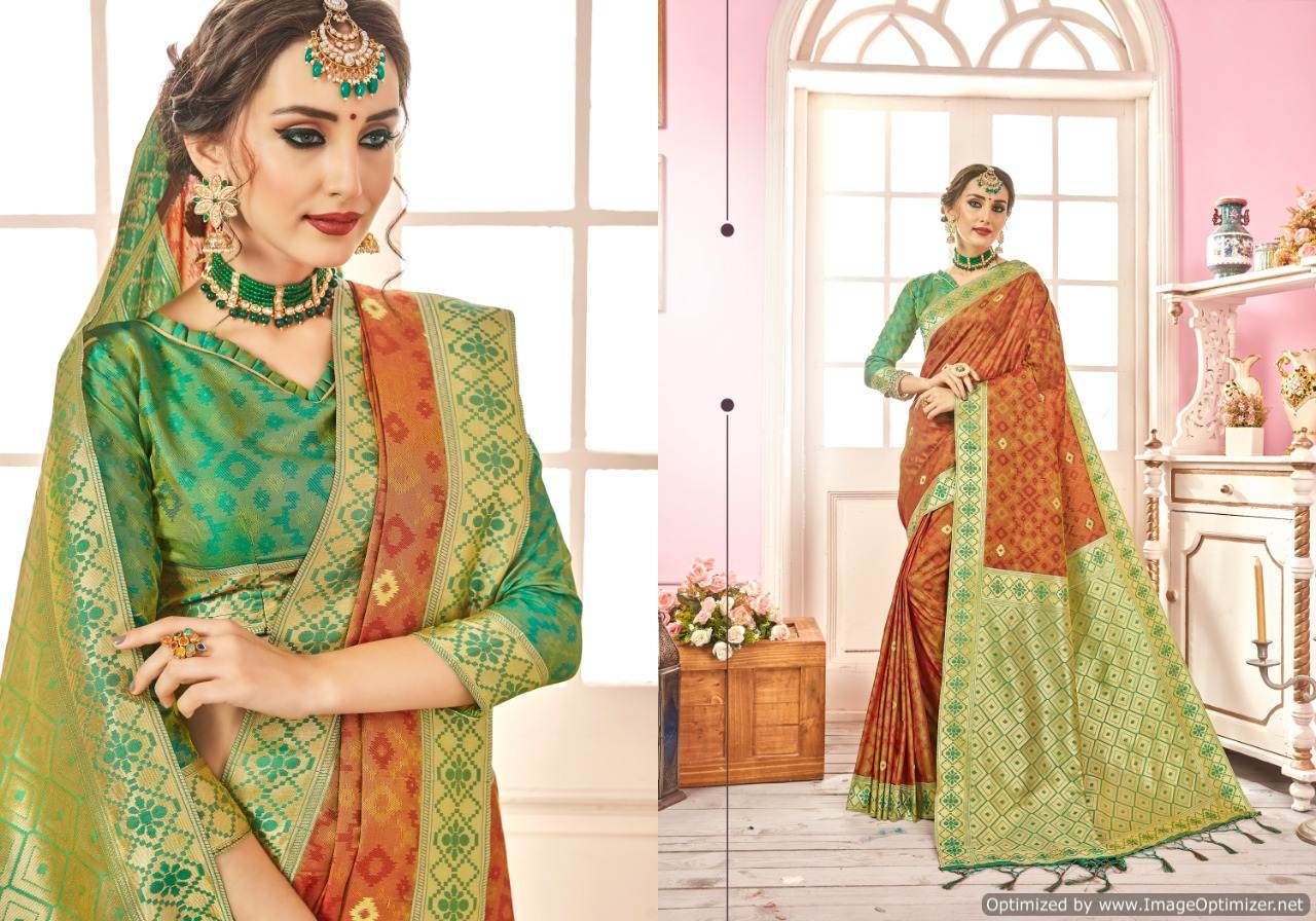 Ynf Ragini Silk Banarasi Silk Saree Wholesale Catalog collection 7