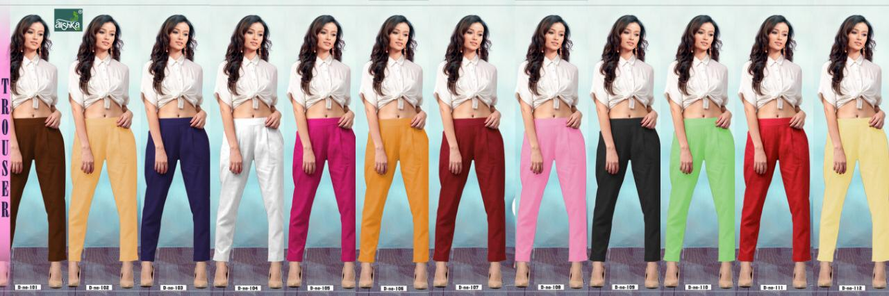 Alishka Trouser Pant collection 1
