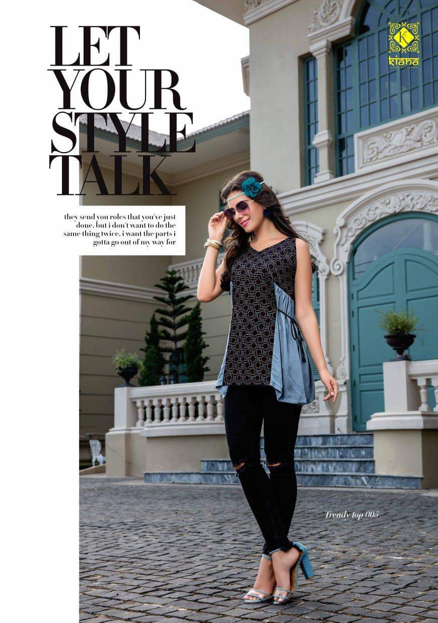 Kiana Trendy Top collection 1