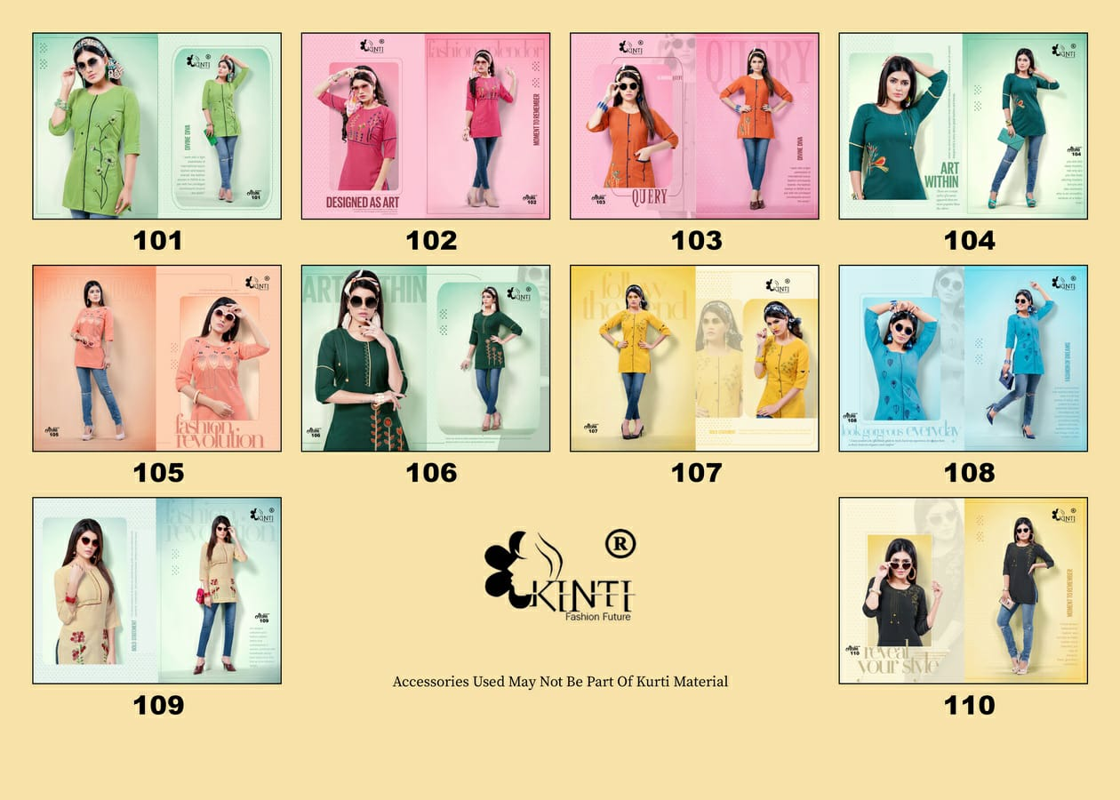 Kinti Alisha collection 4
