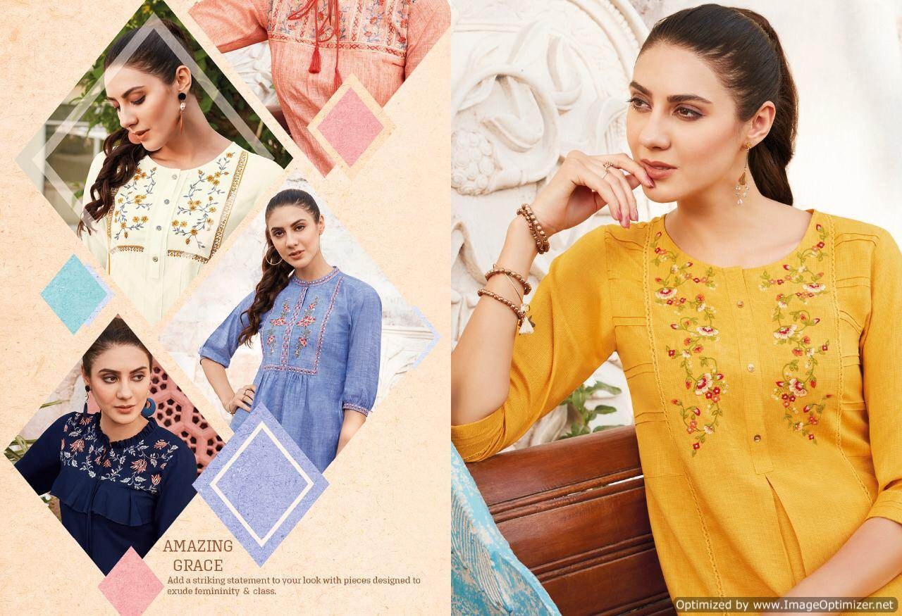 Lt Essentials 3 Rayon Western Short Tops New Collection collection 2