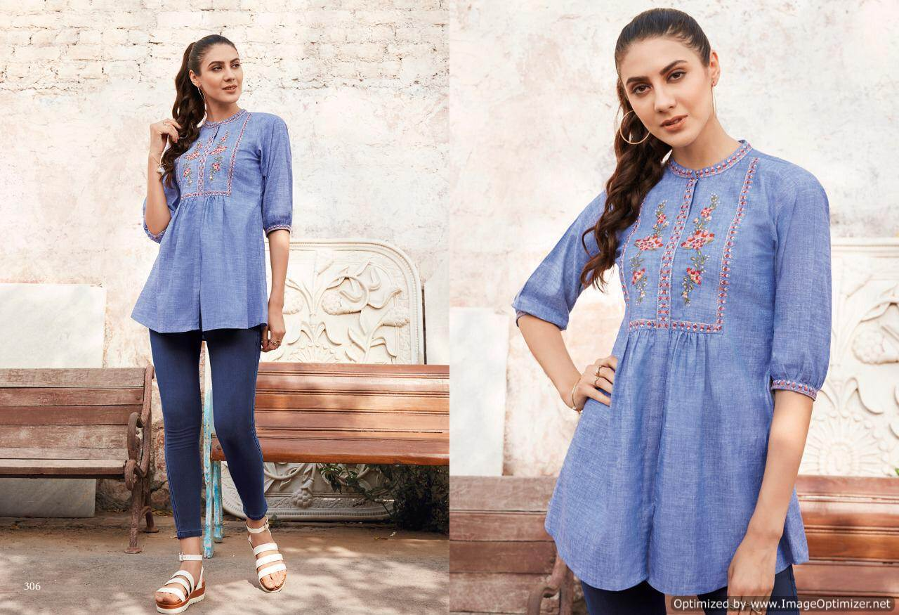 Lt Essentials 3 Rayon Western Short Tops New Collection collection 6