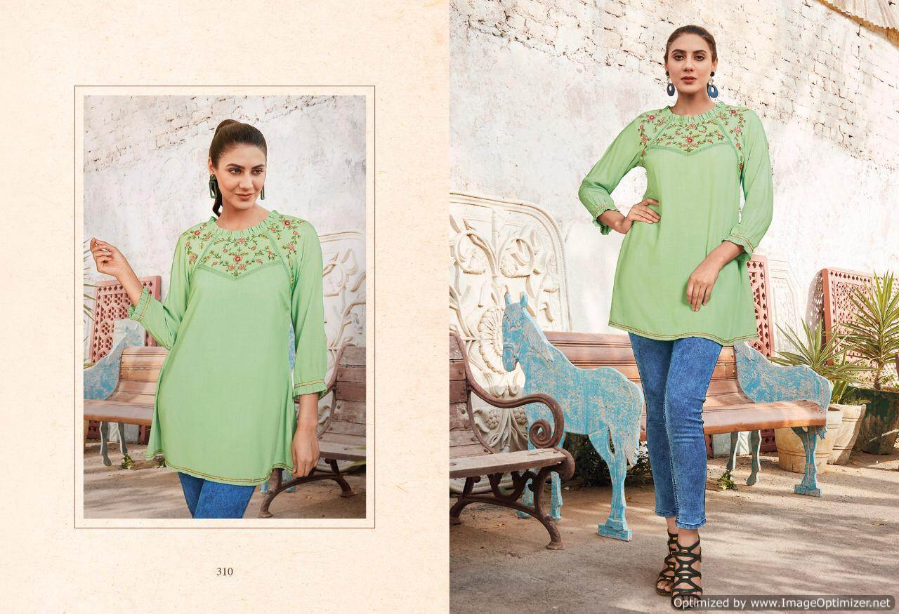 Lt Essentials 3 Rayon Western Short Tops New Collection collection 8