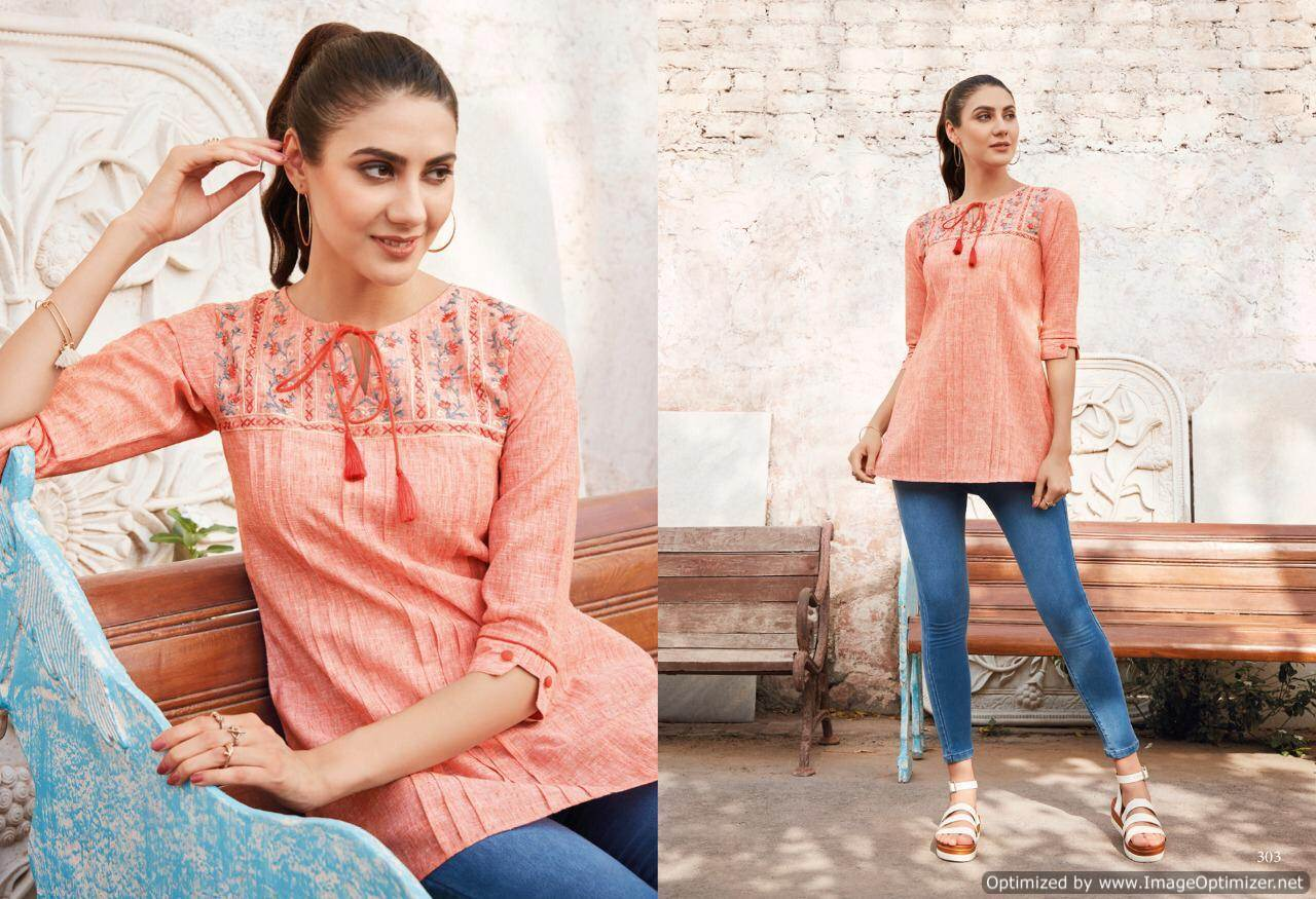 Lt Essentials 3 Rayon Western Short Tops New Collection collection 1