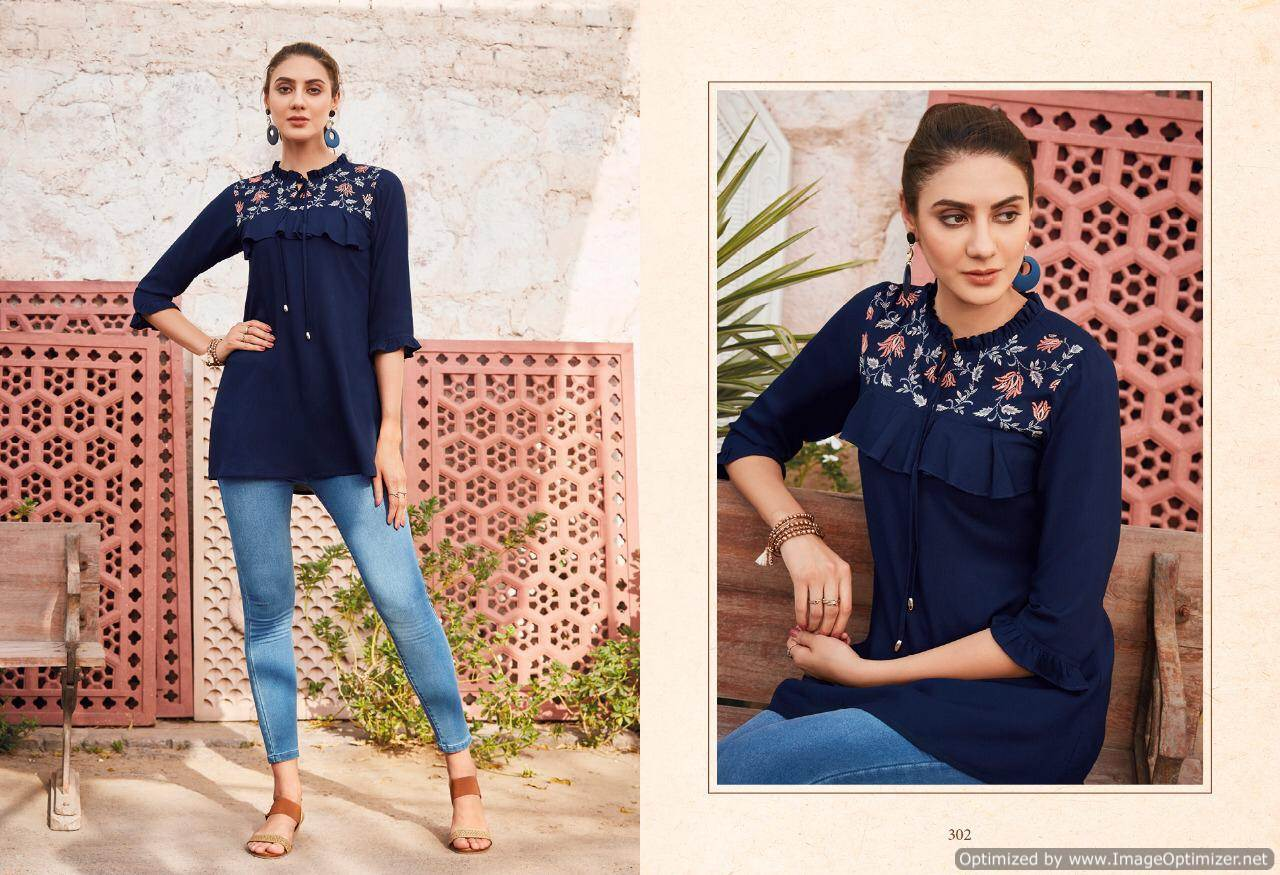 Lt Essentials 3 Rayon Western Short Tops New Collection collection 4