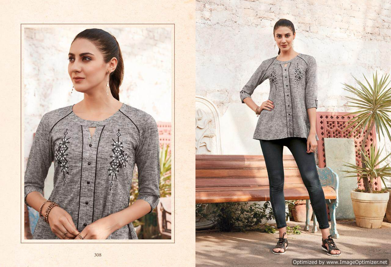 Lt Essentials 3 Rayon Western Short Tops New Collection collection 5