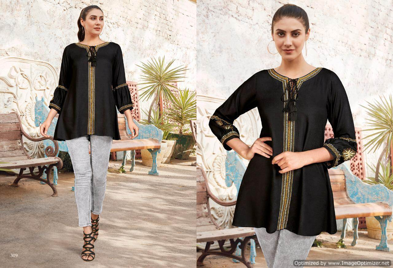 Lt Essentials 3 Rayon Western Short Tops New Collection collection 7