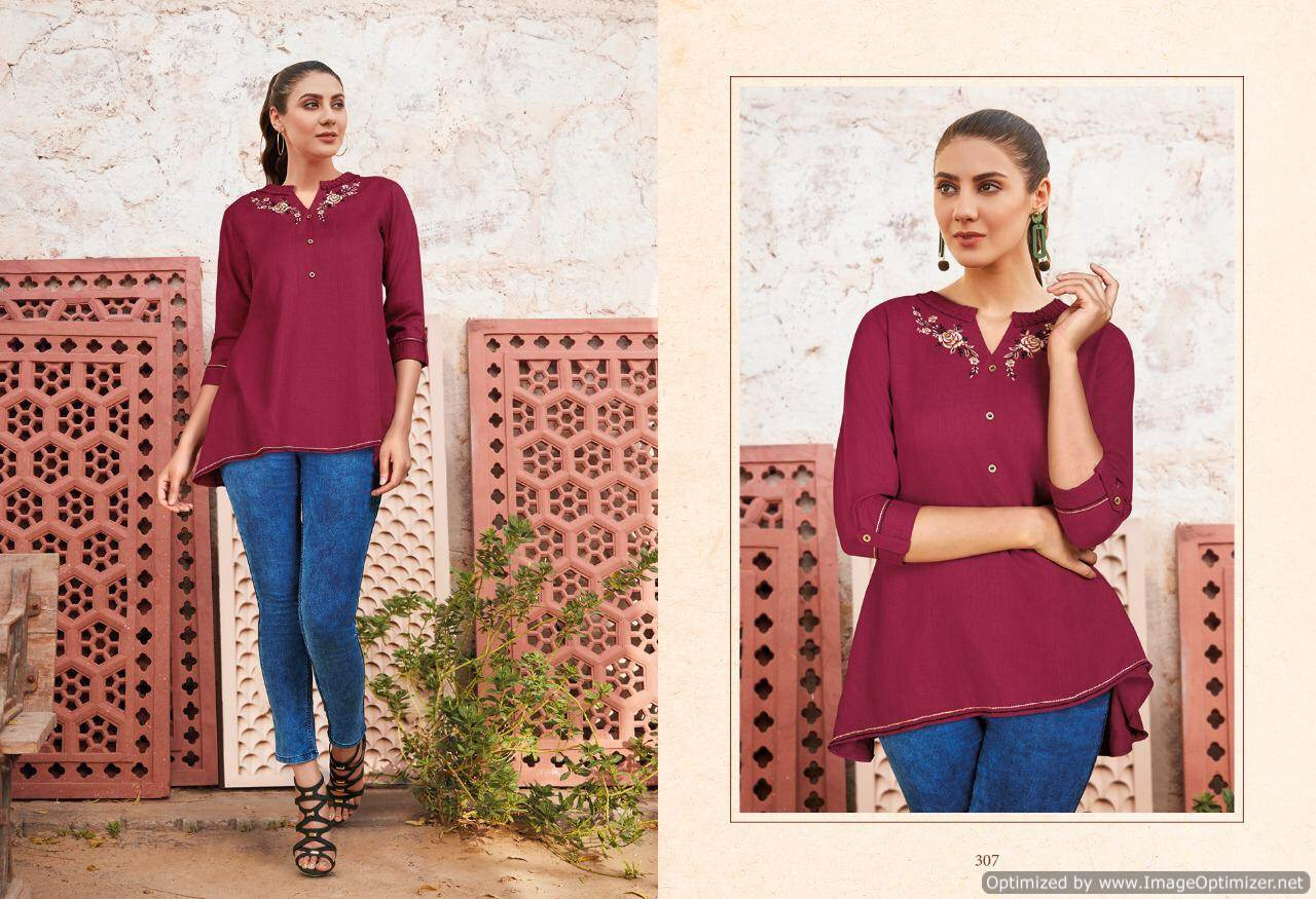 Lt Essentials 3 Rayon Western Short Tops New Collection collection 11