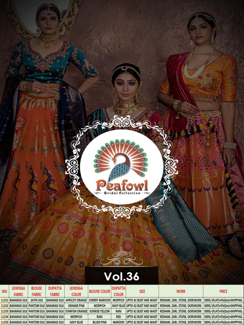 Peafowl Vol 36 collection 4